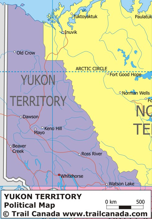 Map+of+yukon+territory+