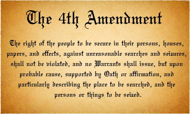fourth amendment of the u s constitution In the united states, the legal right of privacy of electronic communications is  grounded in interpretations of the us constitution, specifically the fourth.